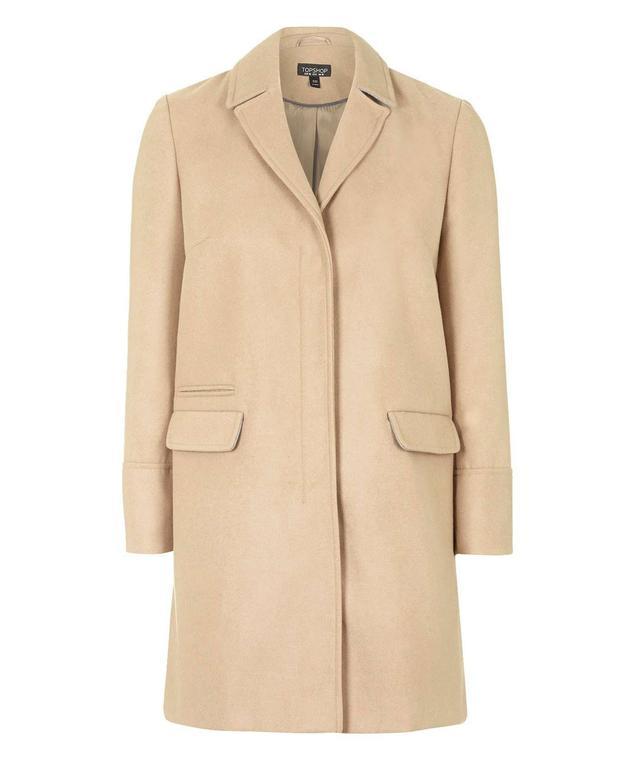 Topshop Slim Pocket Coat