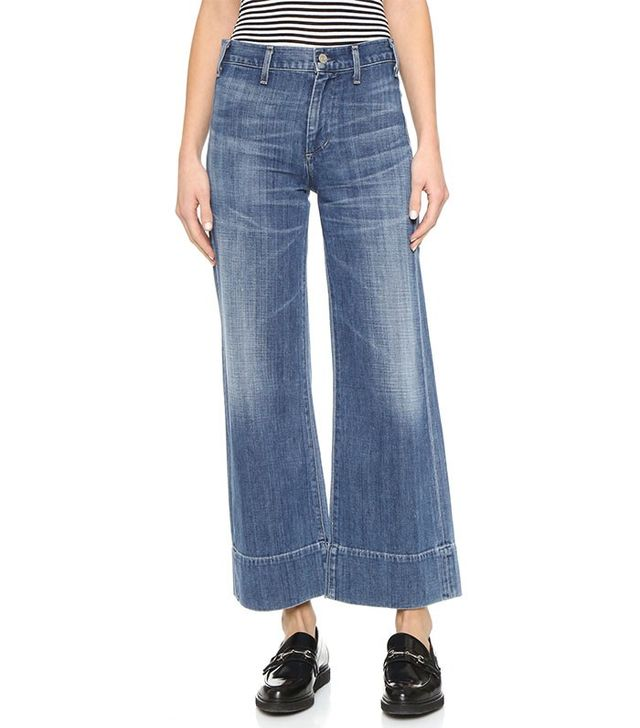 Citizens of Humanity Abigail High Rise Crop Jeans