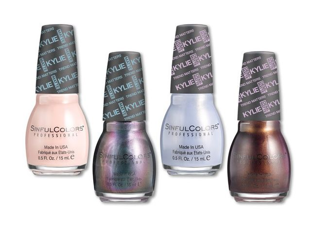 SinfulColors KingKylie Collection Nail Lacquers