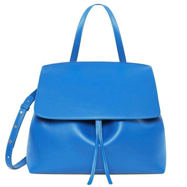 Mansur Gavriel Large Lady Bag in Royal