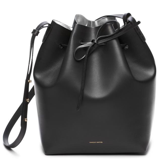 Mansur Gavriel Bucket Bag in Argento
