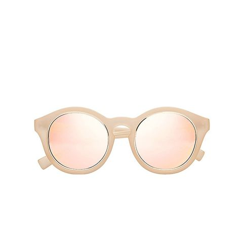 Edition Four x Matte Milky Blush/Gold Sunglasses