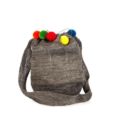 Fique Mochila Pompom Bag