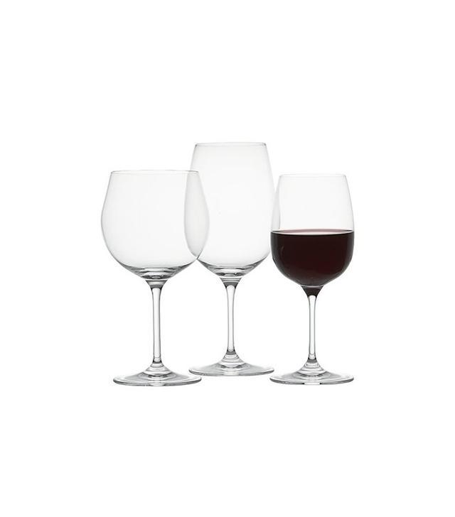Crate and Barrel Set of 8 Viv Wine Glasses