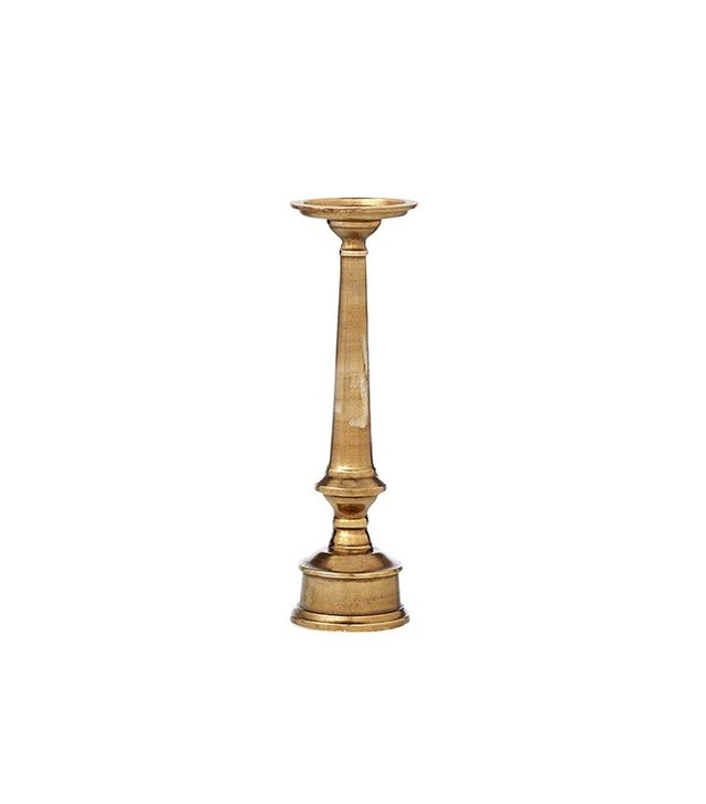 Bed Bath and Beyond Cast Aluminum Candlestick
