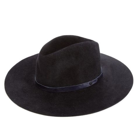 Felted Rabbit Hair & Calf Hair Fedora
