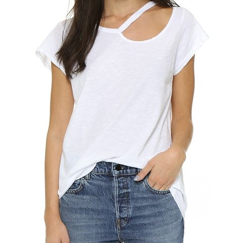 Ripped Neck Tee