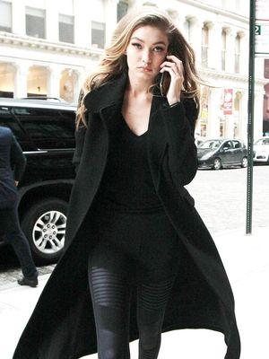 See the Major Statement Sneakers Gigi Hadid Wore in NYC