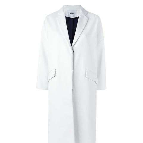 Notched Lapels Coat