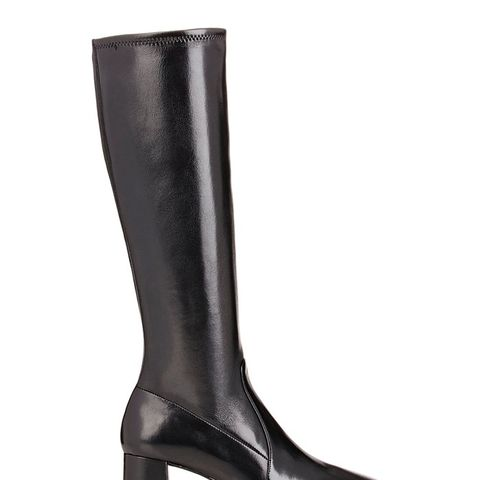 Nappa Leather Knee Boots