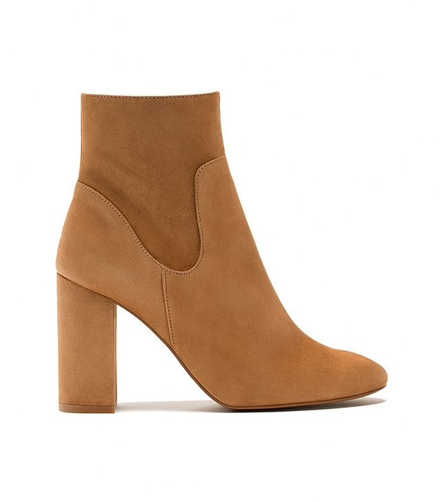 Massimo Dutti Suede Ankle Boots