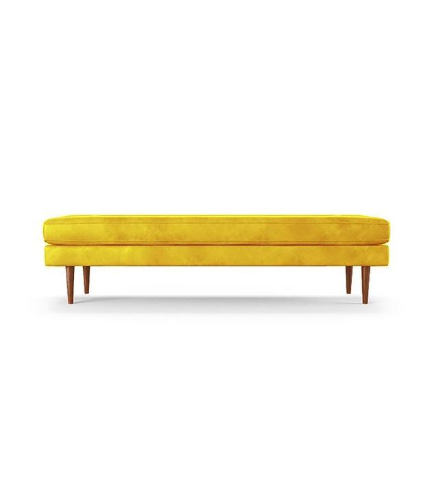 Joybird Leather Bench