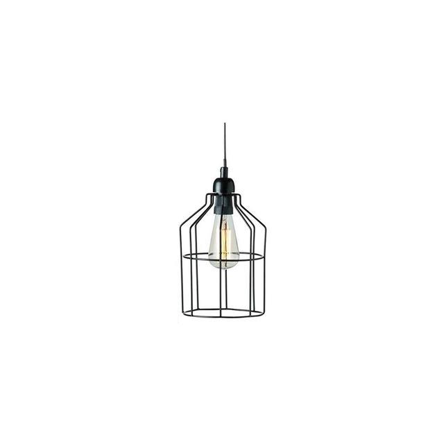 Kmart Industrial Cage Pendant Light - Black