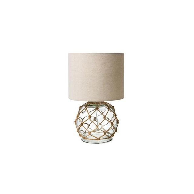 Kmart Glass Rope Lamp
