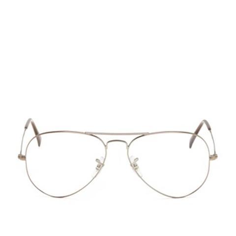 Wire-Rim Aviator Glasses
