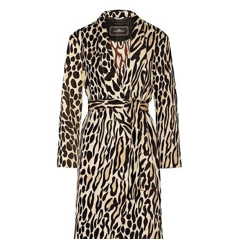 Apponia Leopard Coat