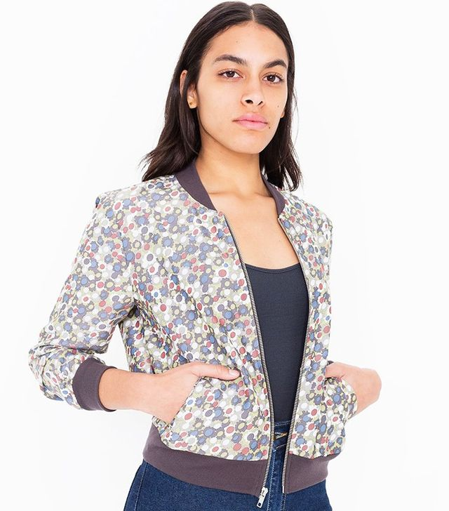 American Apparel Printed Amelia Jacket