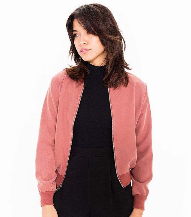 American Apparel Amelia Jacket in Cocoa Bean