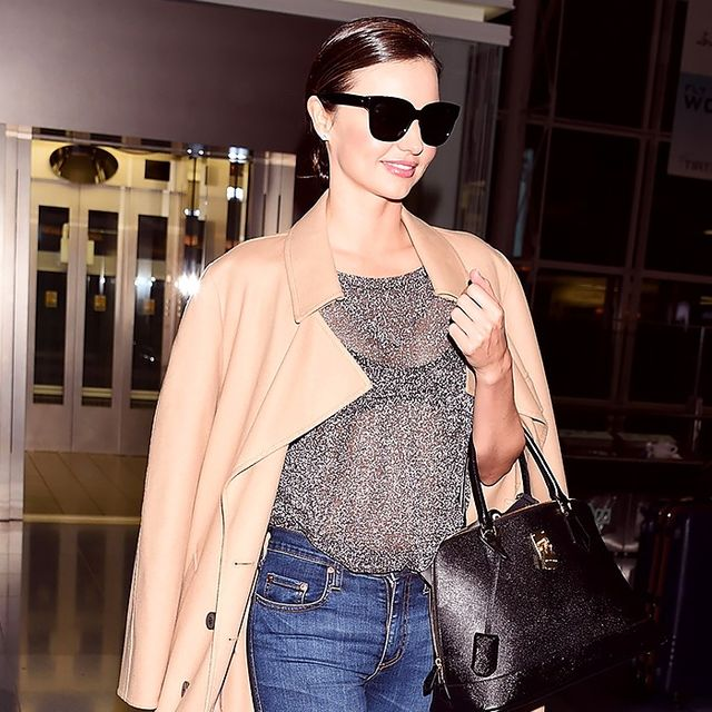 8 Things Models Always Wear to the Airport