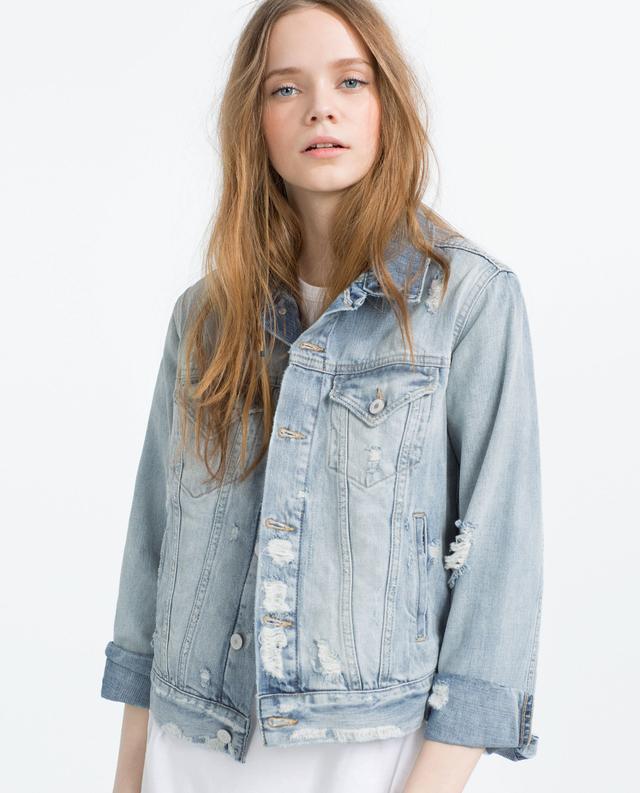 "Zara ""I Am Denim"" Collection Jacket"