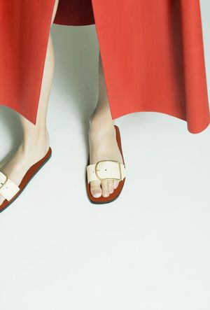 These Acne Sandals Are About to Sell Out Everywhere