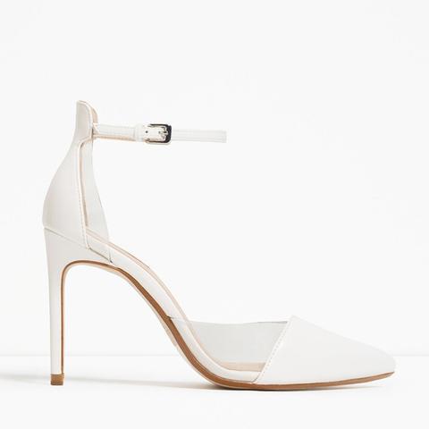 Vinyl D'Orsay Shoes