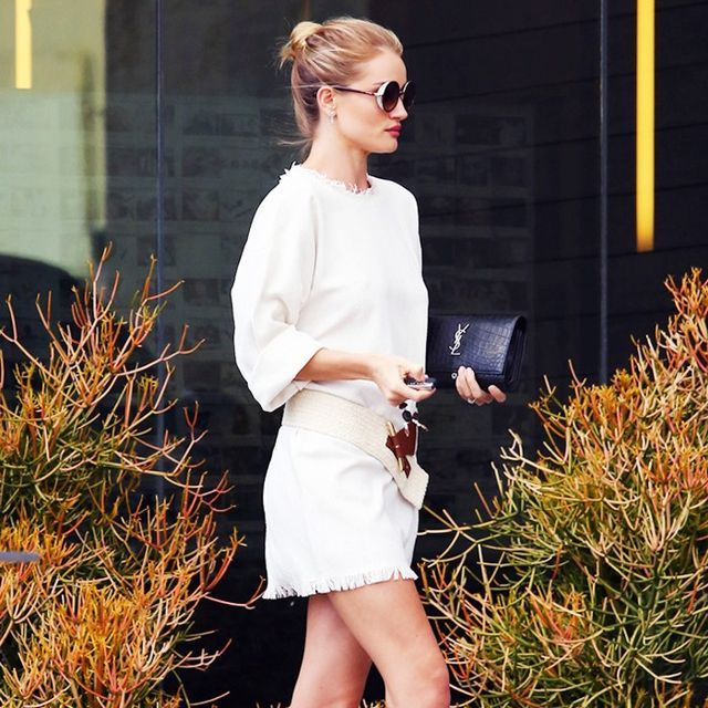 The Slimming Styling Trick Rosie Huntington-Whiteley Loves