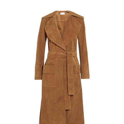 Le Duster Suede Coat