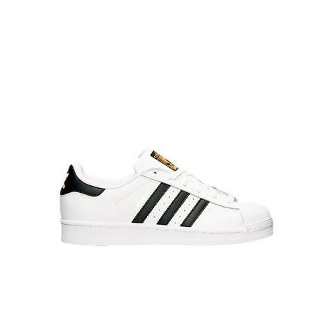 Superstar White & Black Sneakers