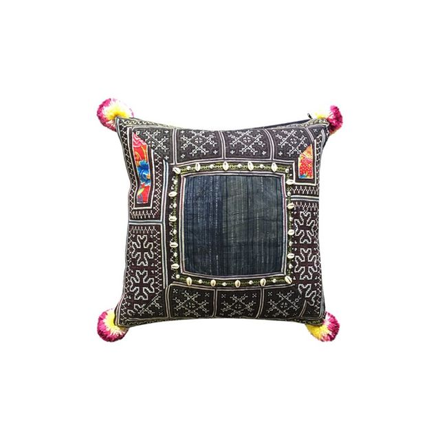 Barefoot Gypsy Indigo Hill Tribe Cushion Covers