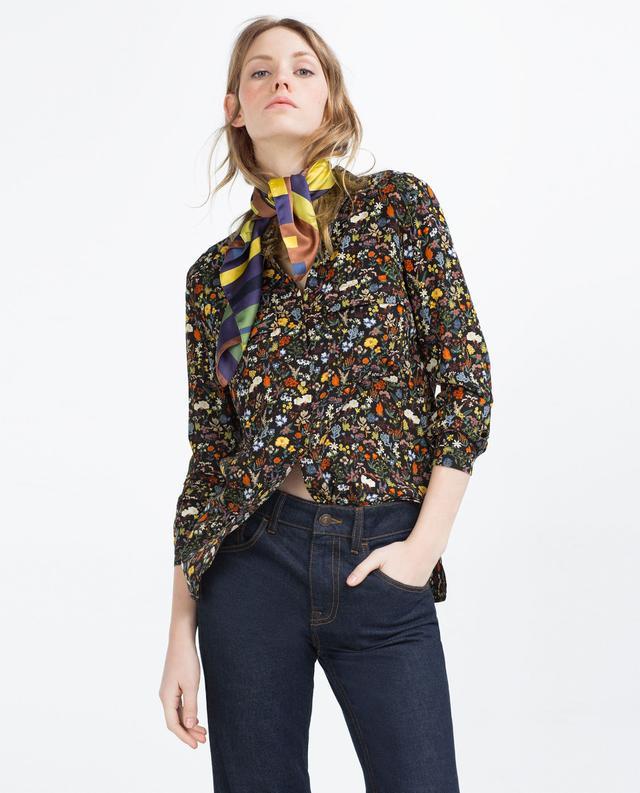 Zara Printed Shirt