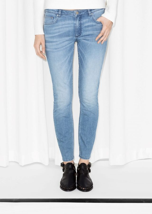 & Other Stories Cropped Skinny Jeans