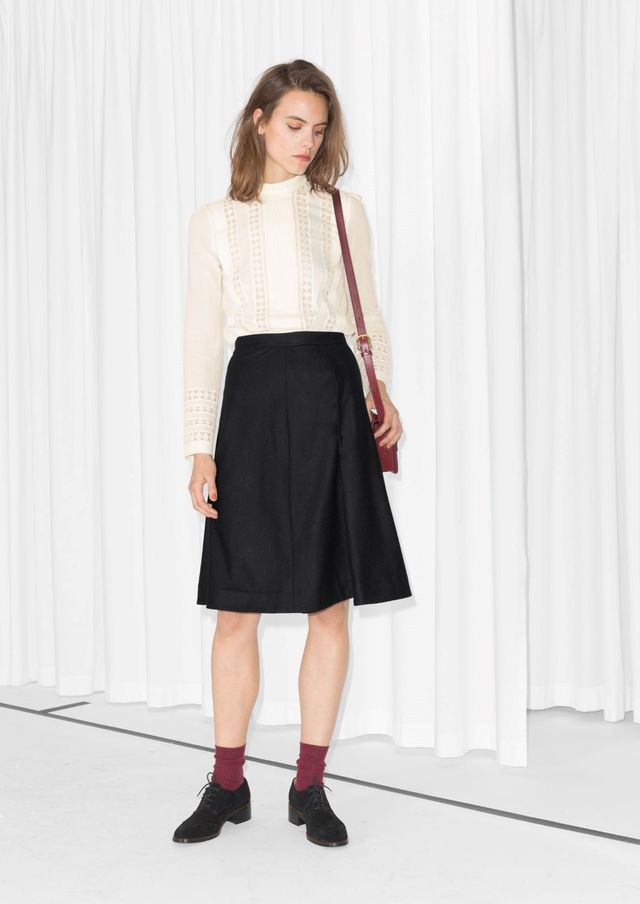 & Other Stories A-Line Skirt