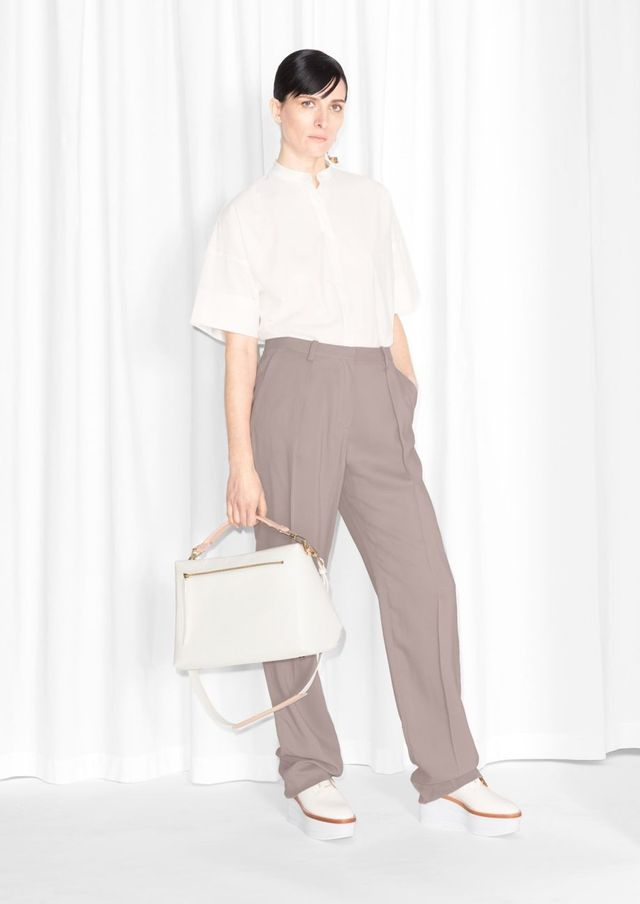 & Other Stories Tailored Trousers