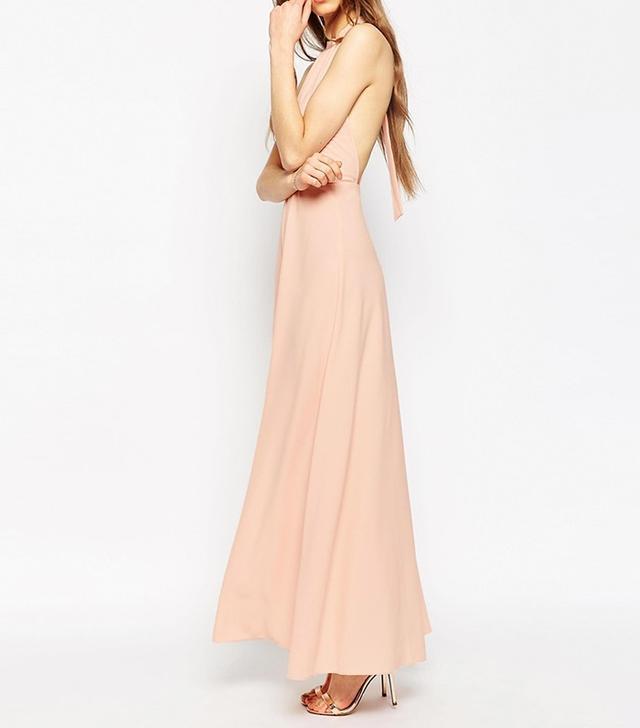 ASOS Halter Neck Maxi Dress