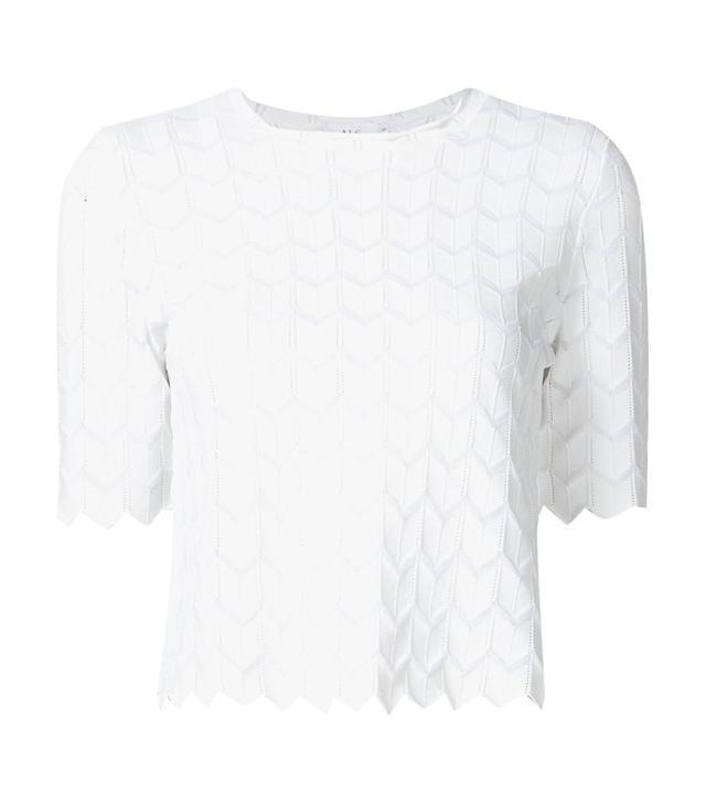 A.L.C. Zigzag Knit Top