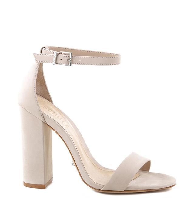 Schutz Enida High Heel Ankle Strap Sandals