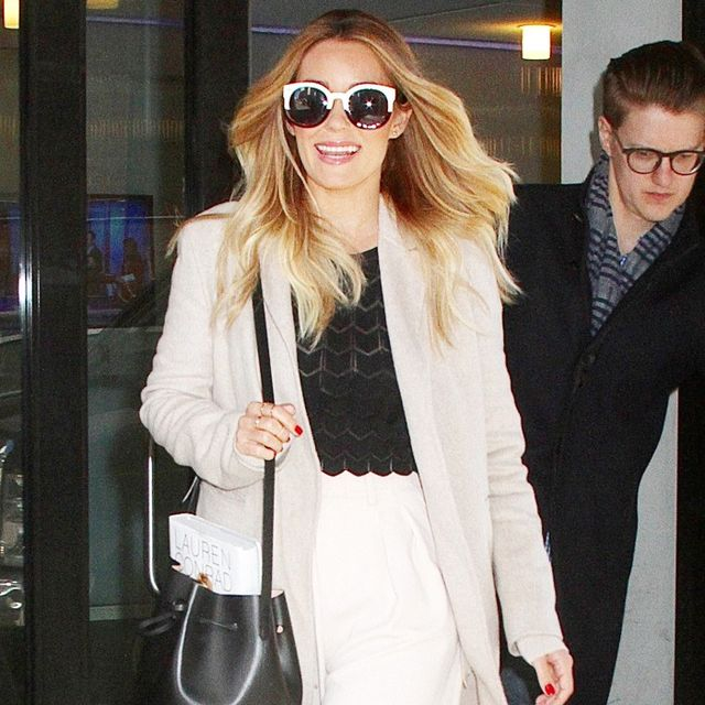 The Styling Trick Lauren Conrad Loves for Elongating Her Legs