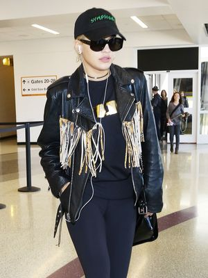 Rita Ora Looks Like the Chicest Biker We've Ever Seen
