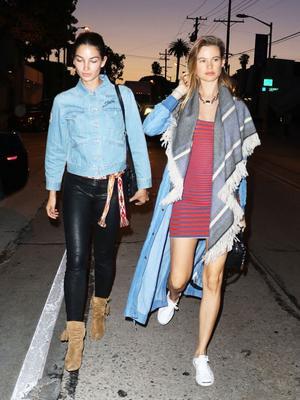 How 3 Victoria's Secret Angels Do a Stylish Girls' Night