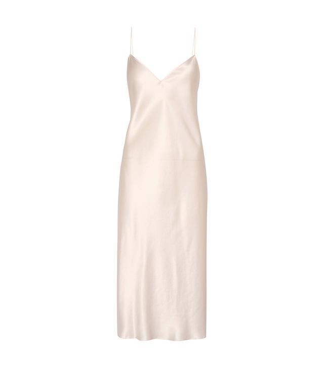 Saint Laurent Silk Slip Dress