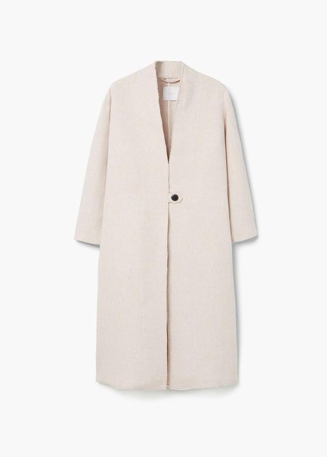 Mango Linen Coat