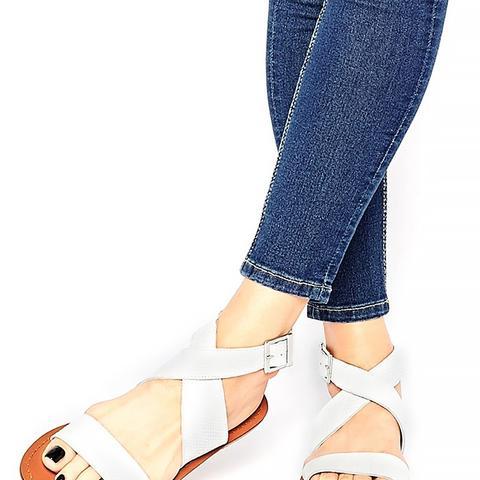 Frame Leather Sandals