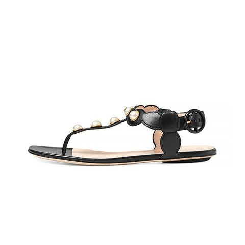 Willow Leather Thong Sandals