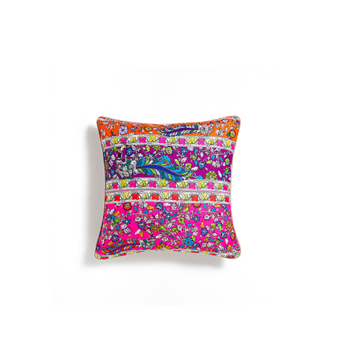 Patchwork Print Cushion