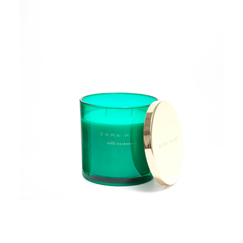 Soft Cashmere Cylindrical Candle