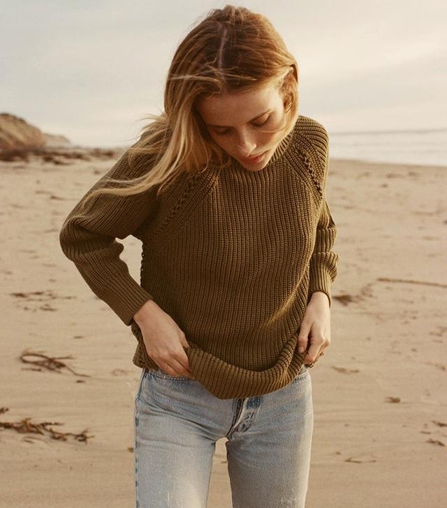 Dôen Whipstitch Sweater