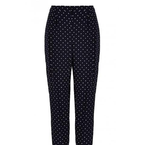 Diffusion Polka Dot Pleated Pants