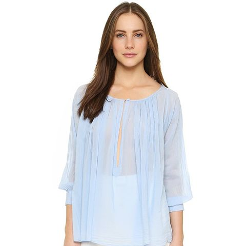 Voile Curled Shirt
