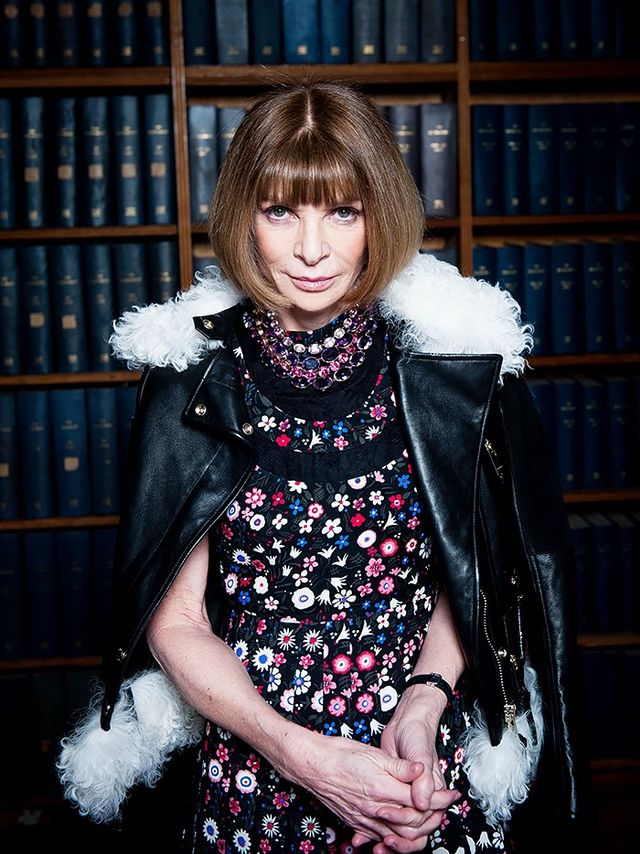 Anna Wintour, Vogue Editor in Chief and Condé Nast Artistic Director